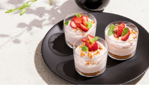 Chobani Strawberry Cheesecake Mousse