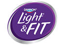 Dannon Light and Fit logo