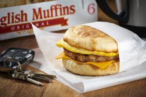 Bays English Muffin Breakfast Sandwich