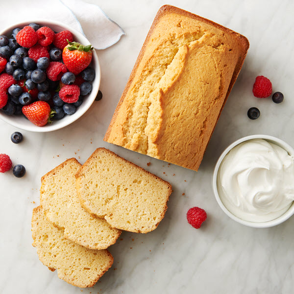 Browned Butter Pound Cake - Land O Lakes