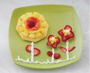 Eggo Waffle Flowers