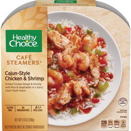 Healthy Choice Cajun Chicken Shrimp