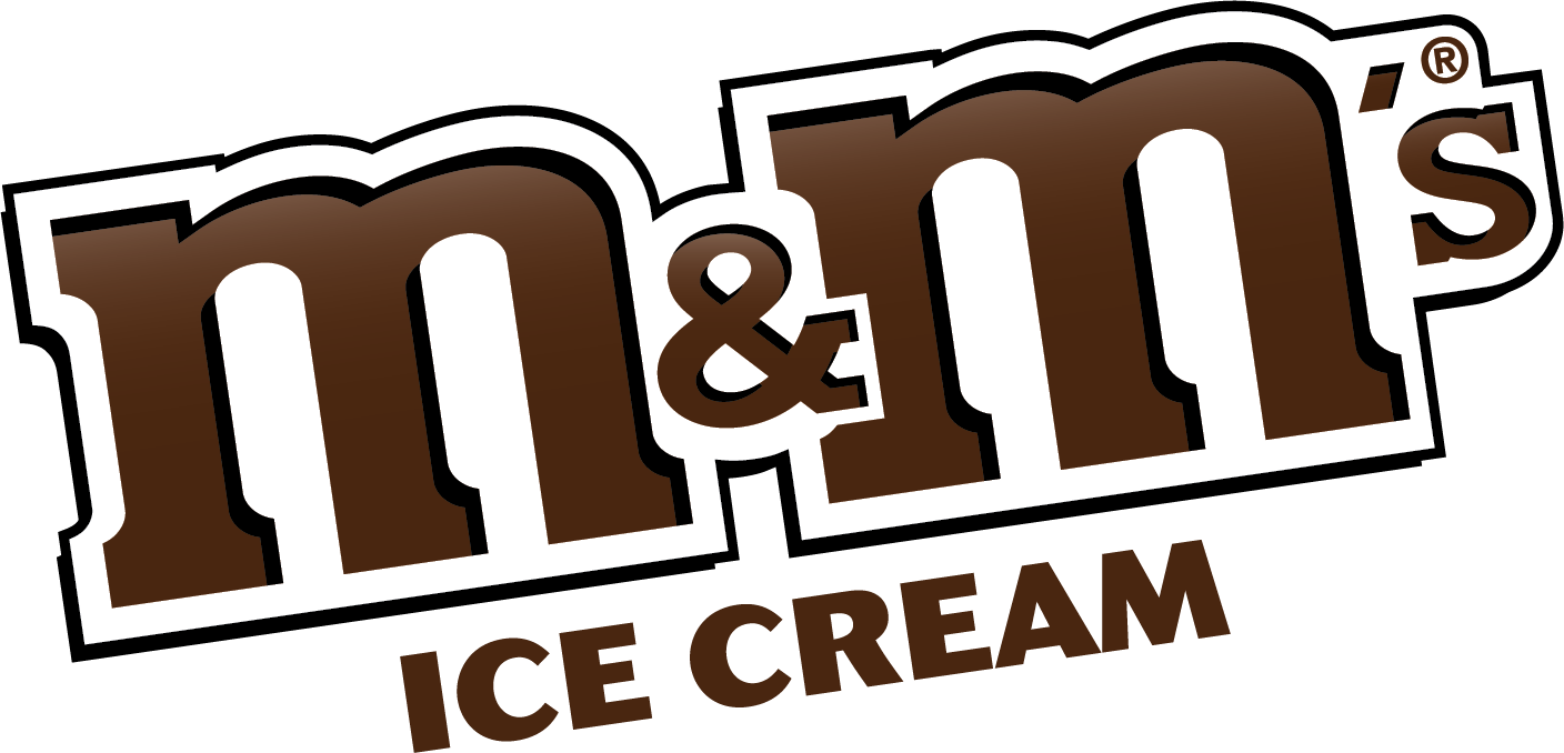 M&Ms Ice Cream Logo 2019