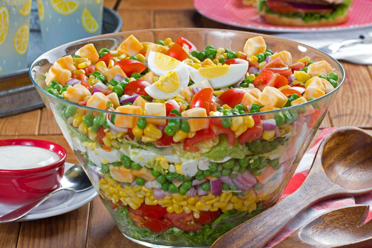 MFTK Party Perfect Stacked Salad