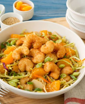 SeaPak East West Popcorn Shrimp Salad