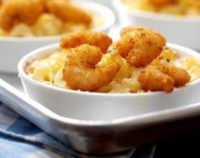 Seapak Popcorn Shrimp Mac N Cheese