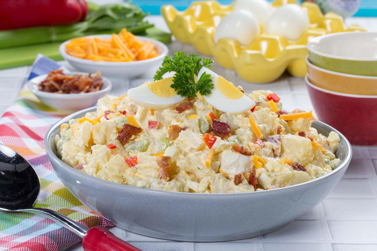 Creamy Dreamy Potato Salad Video