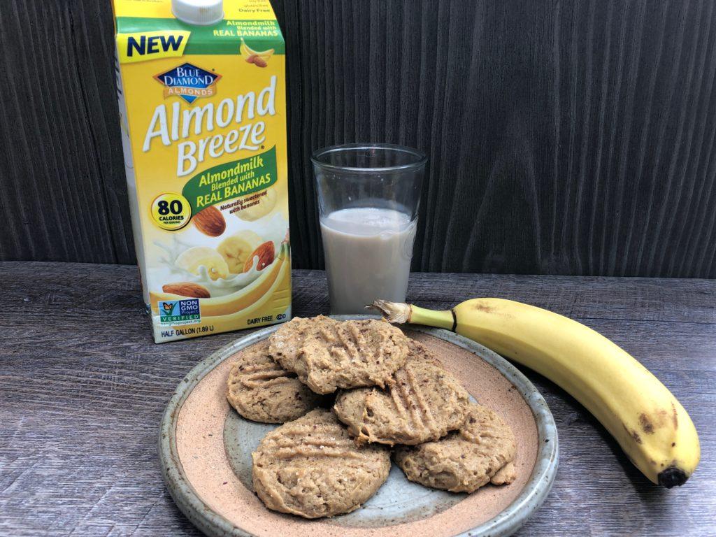 Crunchy Mama Almond Breeze PB Banana cookies