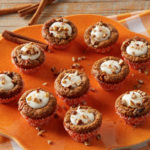 Daisy Carrot Cake Cookie Cups