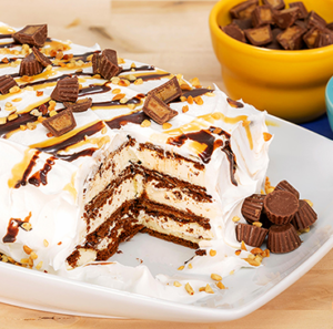 Blue Ribbon Classic Peanut Butter Ice Cream Cake
