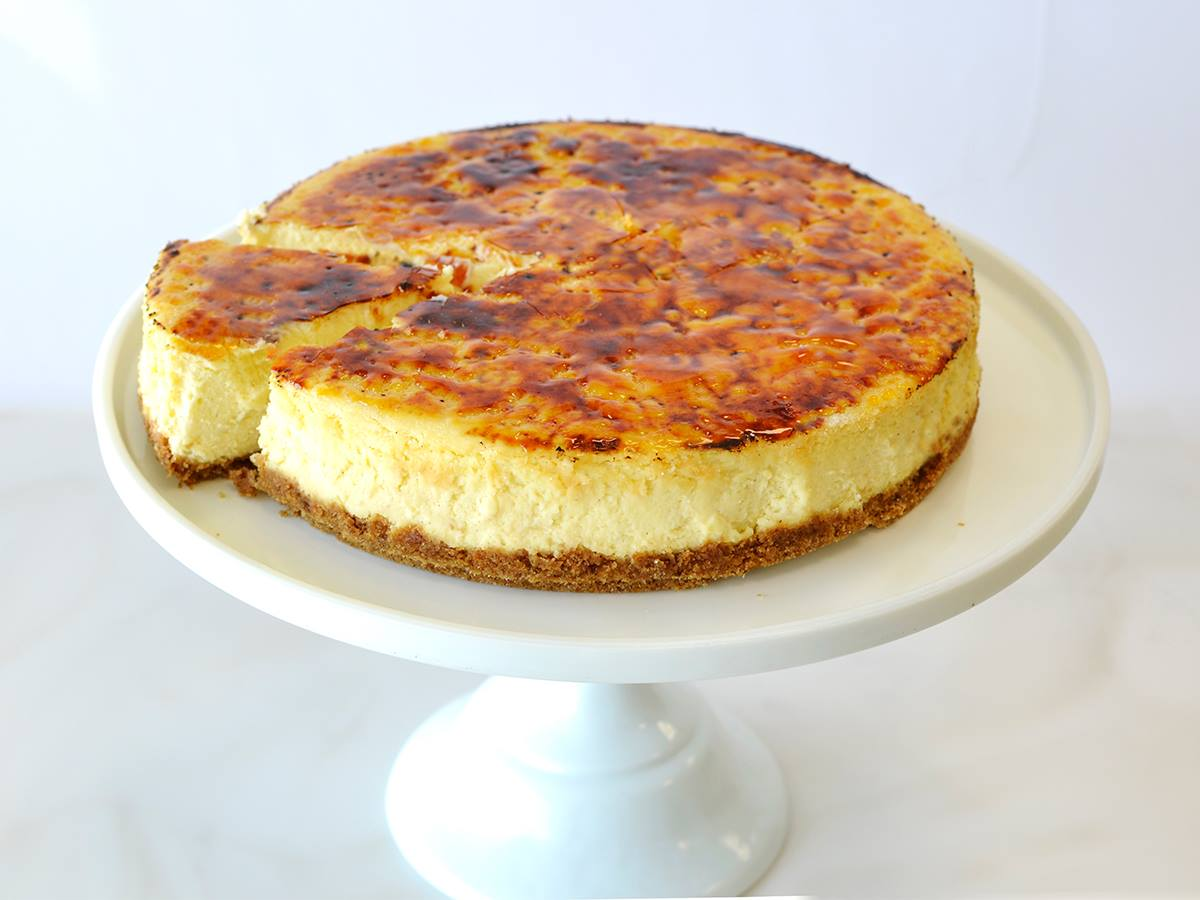Land O Lakes Creme Brulee Cheesecake