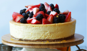 Billy Orange Cheesecake with Berries