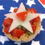 Star Spangled Caprese Salad
