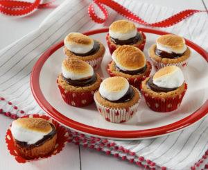 Daisy Smores Mini Tarts