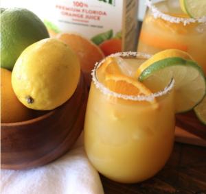 Four Ingredient Orange Margarita
