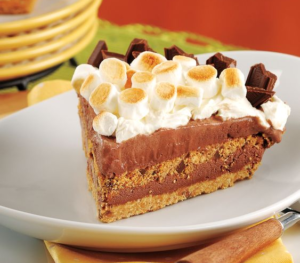Giant Eagle S'mores Ice Cream Pie