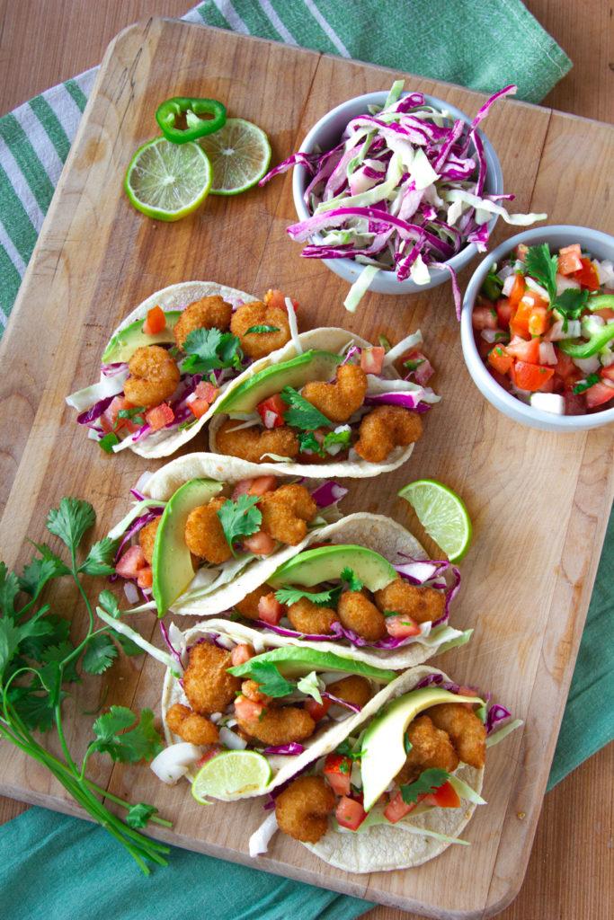 Silvia Shrimp Tacos