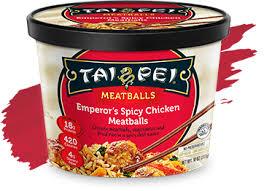 Tai Pei Emperors Spicy Chicken Meatballs