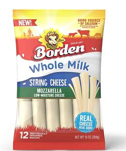 Borden Whole Milk String Cheese