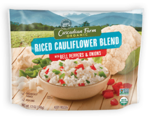 Cascadian Farm Riced Cauliflower with Peppers