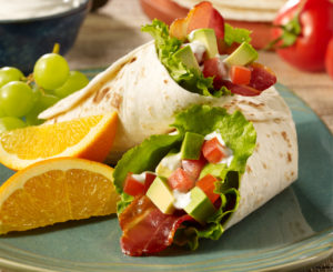 Daisy BLAT Wrap with Ranch Sour Cream