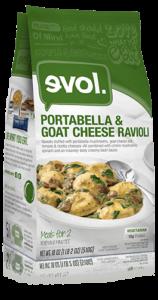 EVOL Portabella Goat Cheese Ravioli