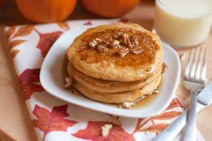 Hood Pumpkin Spice Pancakes