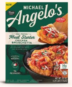 Michael Angelos Chicken Bruschetta Meal Starter