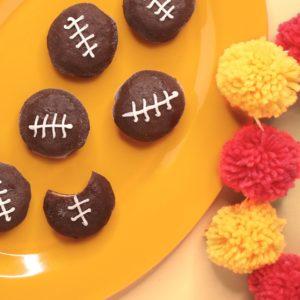 Mochi Ice Cream Footballs