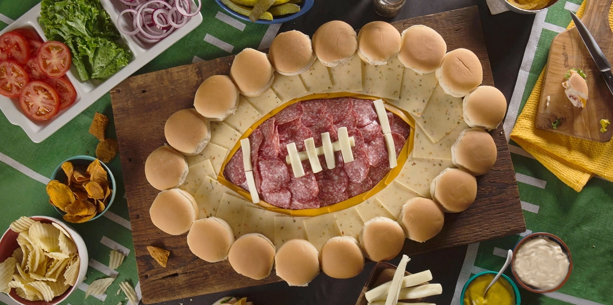 Sargento Football Party Platter
