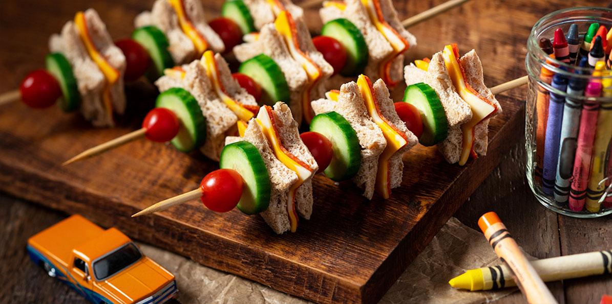 Sargento Mini Star Sandwich Skewers