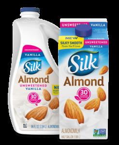 Silk Unsweet Vanilla Almondmilk