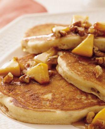 Yoplait Praline Peach Pancakes