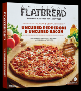 American Flatbread Uncured Pepperoni and Bacon Pizza