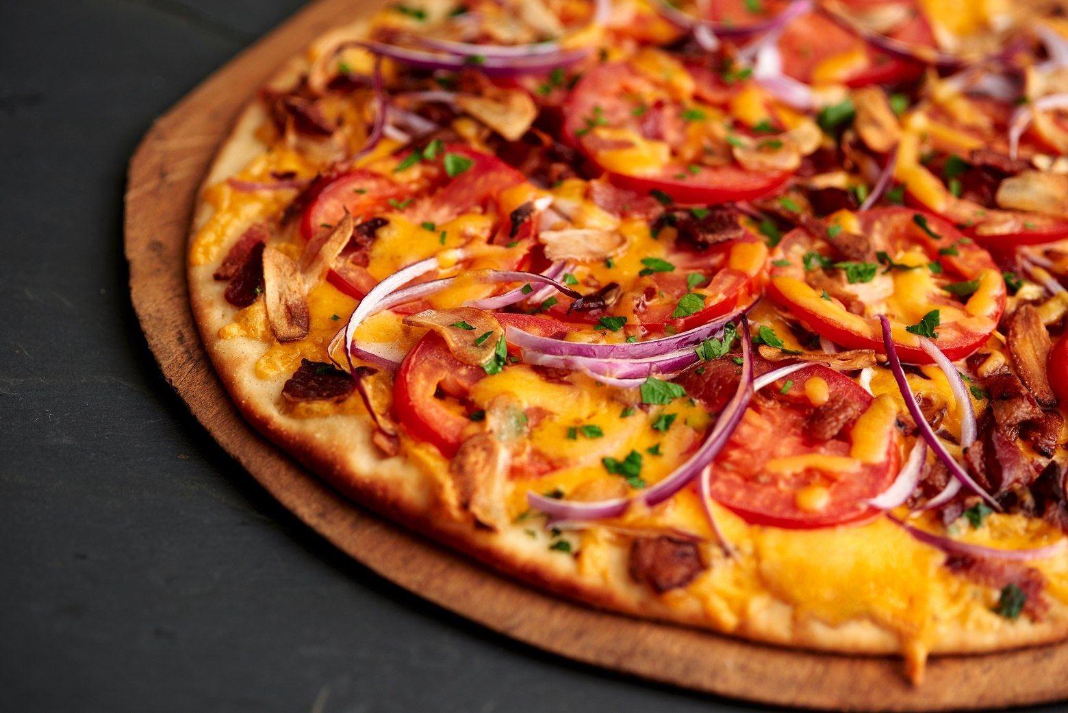 Borden Cheesy Flatbread Pizza