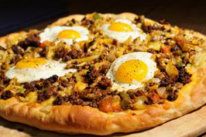 Bridgford Chorizo Egg Pizza