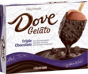 Dove Gelato Triple Chocolate Bar
