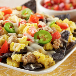 LOL Breakfast Nachos