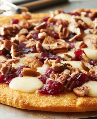 Cranberry Brie Pizza
