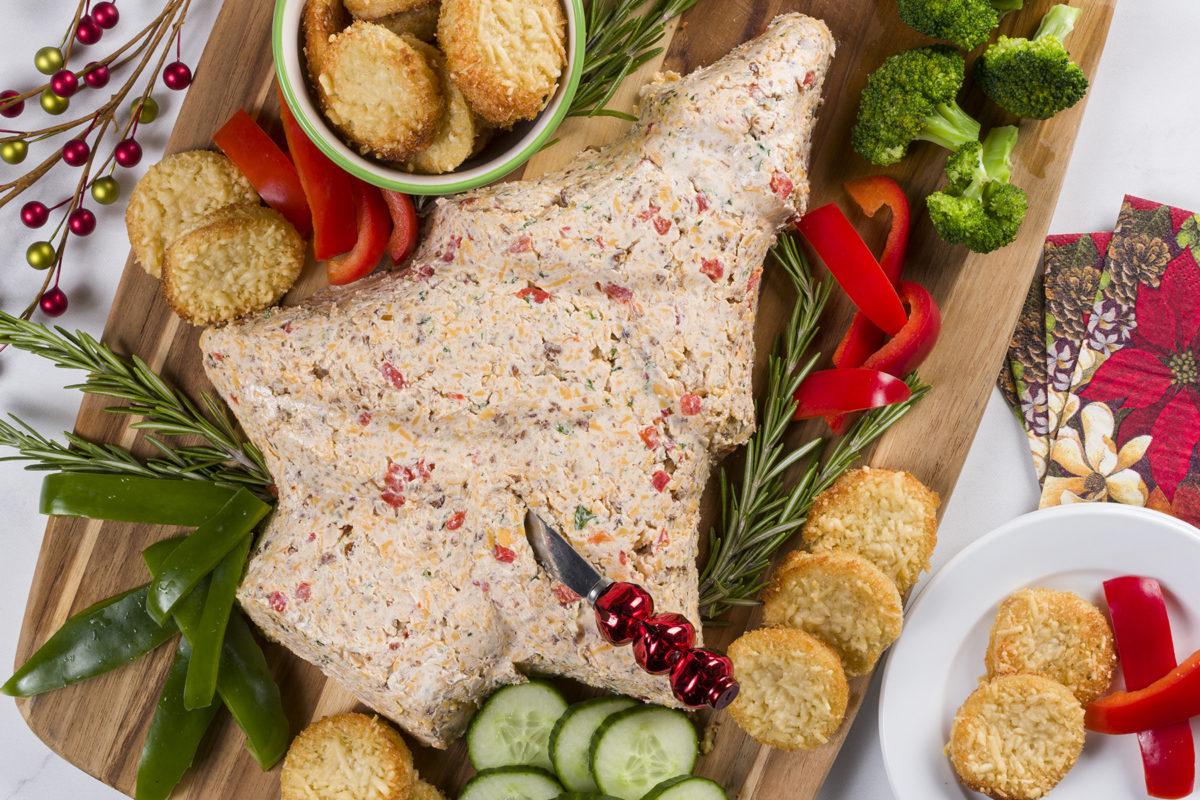 MFTK Christmas Tree Cheese Spread