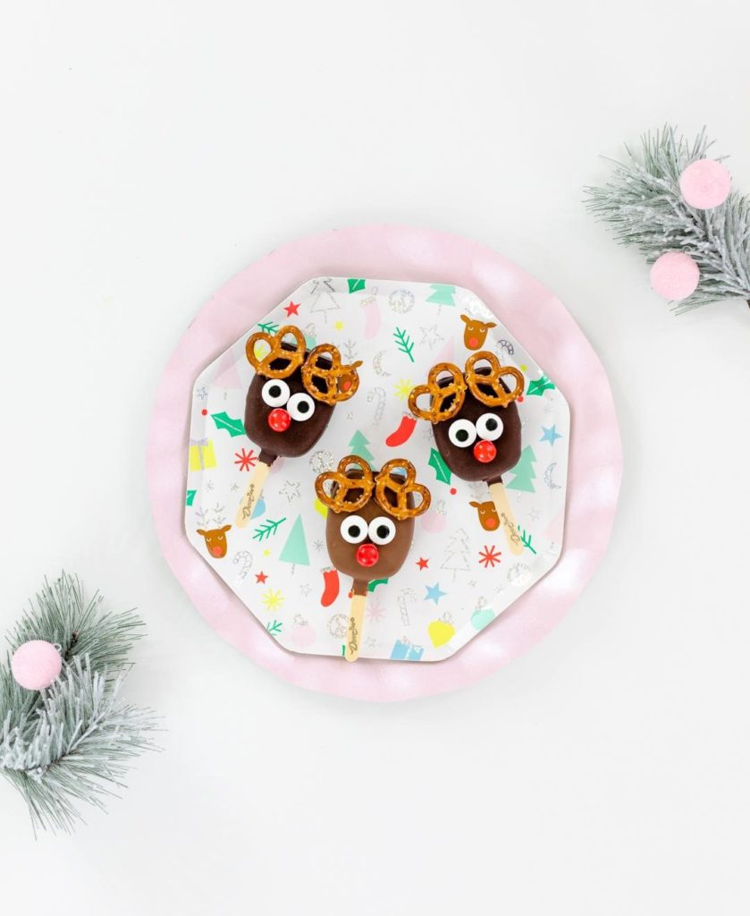 Dawn Holiday 2019 IG Takeover - Dessert Reindeer