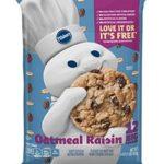 Pillsbury Oatmeal Raisin Cookies