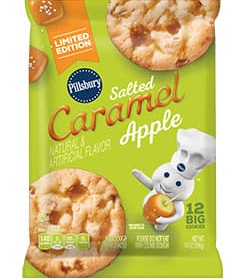 Pillsbury Salted Caramel Apple Cookies