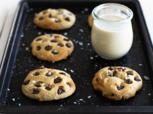 Silk Chocolate Chip Cookies