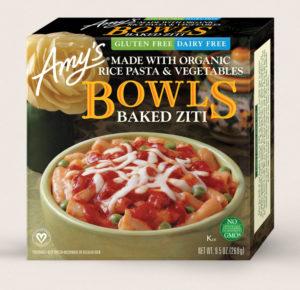 Amys Gluten Free Baked Ziti Bowl