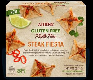 Athens Gluten Free Steak Fiesta Phyllo Bites
