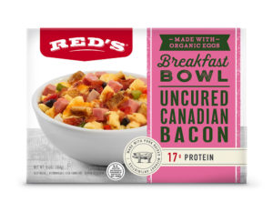 Reds Uncured Canadian Bacon Breakfast Bowl