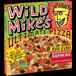 Wild Mikes Super Sized Supreme Pizza
