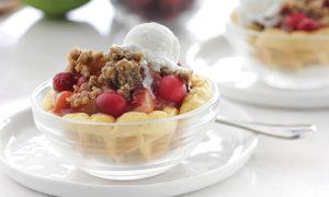 Eggo Apple Cranberry Crisps
