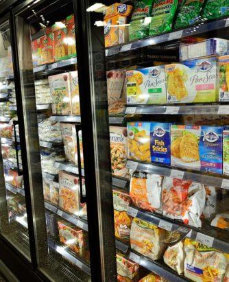 Frozen Food Aisle Photo
